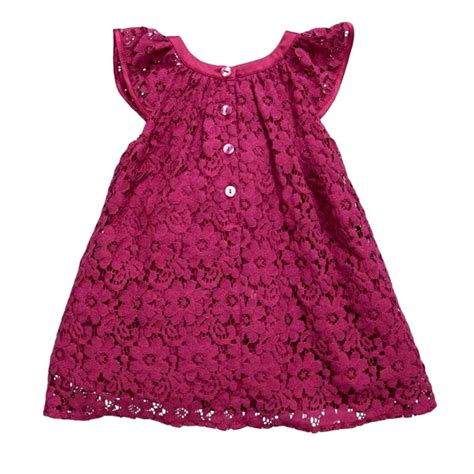 Baby Lovely Lace Dress newest baby lace princess lovely tulle dress 2 7years in dresses from