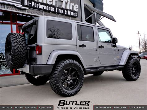 Best Jeep Wrangler Rims Jeep Wrangler With 20in Black Rhino Glamis Wheels A