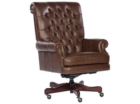tufted leather executive office chair hekman office executive tufted back leather chair in