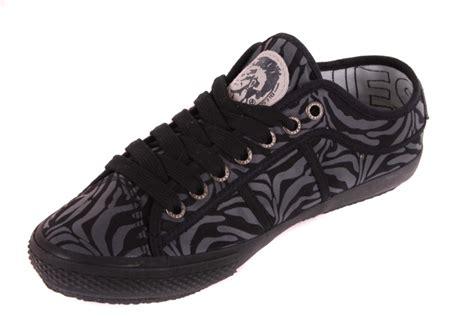 diesel womens sneakers diesel womens shoes lace up shoes zebra black 33 ebay