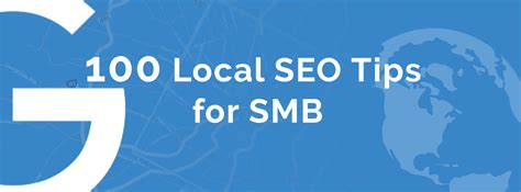 Seo Advice by 100 Local Seo Tips For Smb Checklist 2017 2018 Seopie