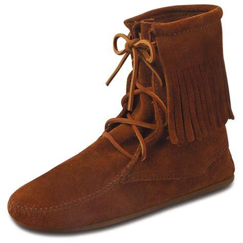 s minnetonka moccasin 174 trer ankle hi boots