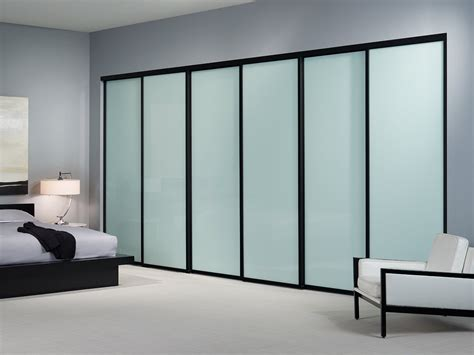 Glass Closet Doors Large Sliding Glass Closet Doors