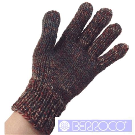 knitted gloves pattern by berroco