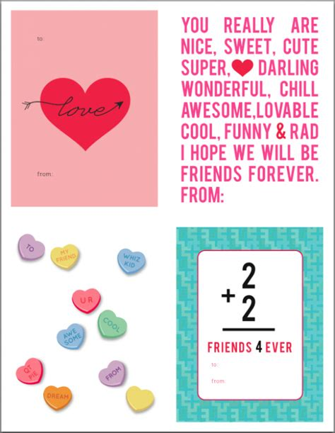 valentines day free printables printable valentines day cards designed by westbrook