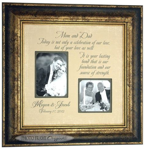 Wedding Gift For Parents by Wedding Gift For Parents Mr Mrs Sign Groom Today A