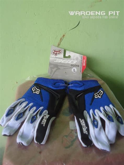 Sarung Tangan Fox Youth Biru Sarung Tangan Fox Import sarung tangan fox glove merah sepeda mtb bmx gunung murah