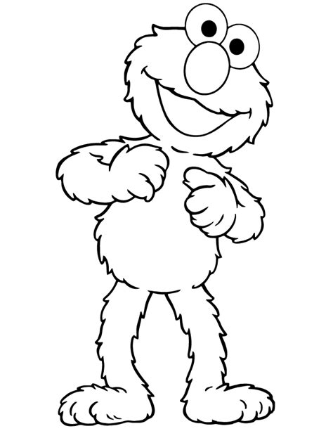 cute elmo coloring page h m coloring pages