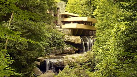 frank lloyd wright waterfall frank lloyd wright architecture fallingwater river