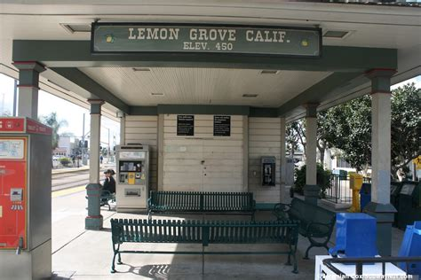 lemon grove depot san diego trolley orange line the