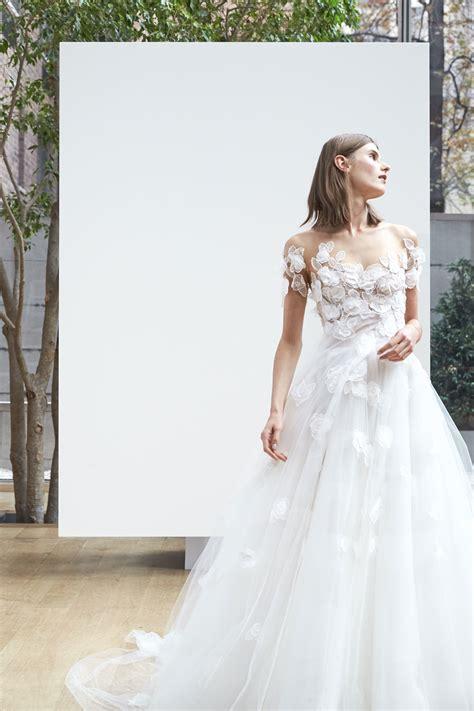Wedding Flower Dress by Oscar De La Renta 2018 Wedding Dresses Arabia