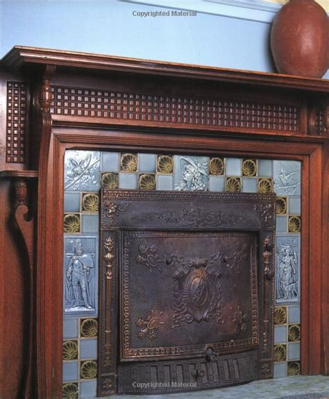 ceramic tile fireplace surround pottery tile bas