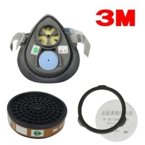 Masker Respirator Half Mask Krisbow Masker Respirator 3m 3200 single cartridge half respirator mask my power tools