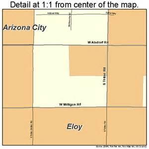 eloy arizona map 0422360