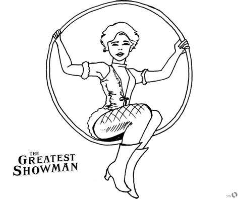 the greatest showman coloring pages wheeler drawing
