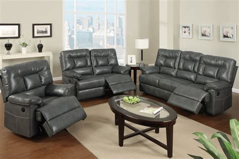 gray couch and loveseat grey bonded leather power motion sofa lowest price sofa