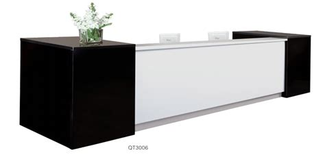 cheap reception counter design office reception table
