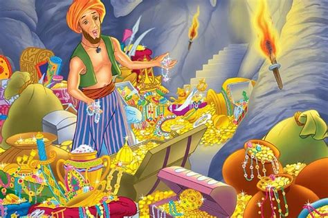 alibaba and the forty thieves the story of ali baba baba and the forty thieves for