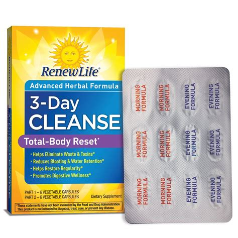 5 Day Detox Cleanse Kit by Nature S Secret 5 Day Fast And Cleanse Kit