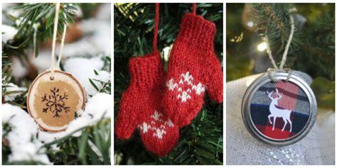 homemade christmas ornaments diy crafts