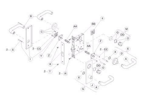 schlage mortise lock template schlage l9080 trim parts