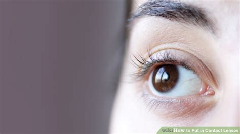 Putting In And Removing Contact Lenses by How To Put In Contact Lenses 15 Steps With Pictures