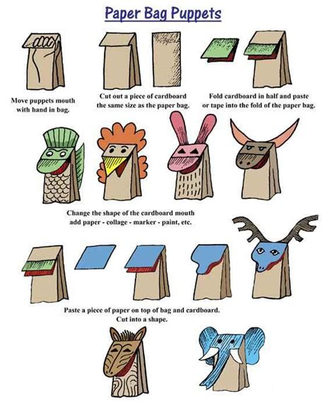 How To Make A Pouch Out Of Paper - easy diy jim west puppets paperblog
