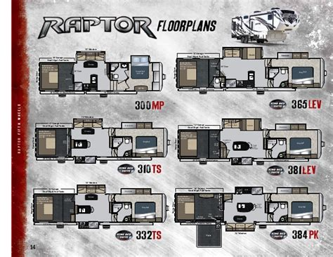 raptor rv floor plans 2013 keystone raptor toy hauler