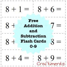 flash card maker addition 1000 images about math add subtract on pinterest