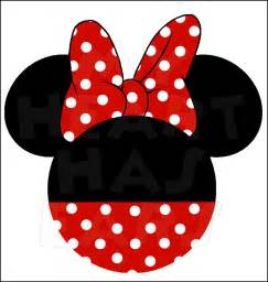 minnie mouse head templates clipart best