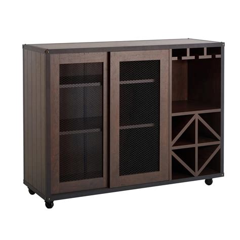 buffet ls home depot furniture of america winston walnut buffet hfw 15700c6
