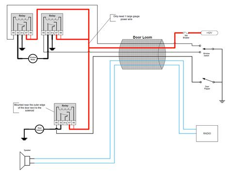 electric power window switch wiring diagram electric