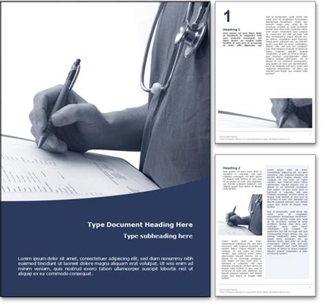word page design templates royalty free microsoft word template in blue
