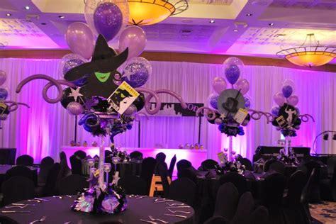 broadway themed decorations broadway themed bat mitzvah event decor balloon