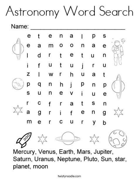 astronomy word searches iconã s challenging word searches for adults volume 1 books astronomy word search coloring page twisty noodle