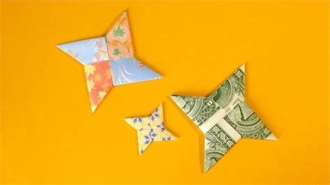 Origami 4 Point - paper crafts