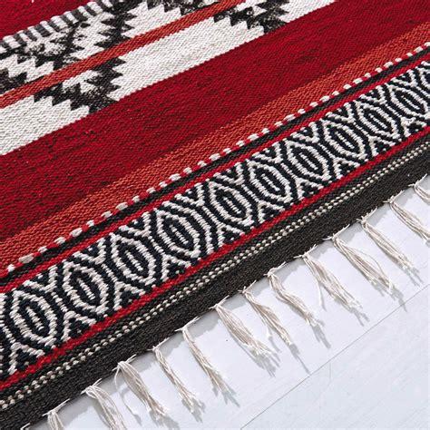 tapis tresse tapis tress 233 en coton multicolore 230 x 160 cm zigua maisons du monde