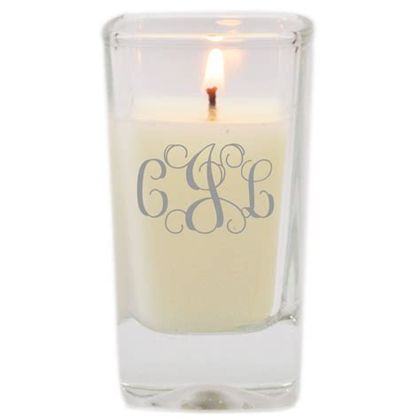 candele votive personalized glass votive candles by carved solutions