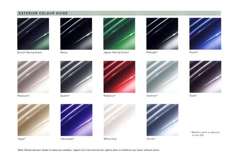 jaguar paint color chart ideas color codes jaguar paint cross reference jaguar paint colours