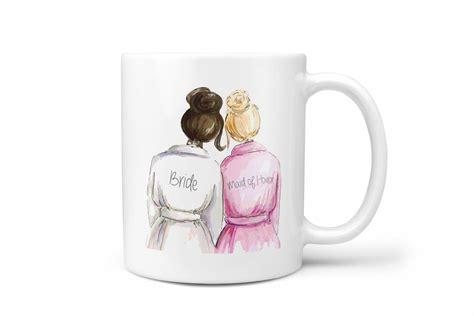 bridal shower gifts from of honor of honor gifts wedding gift for bridal shower gift ceramic coffee mug and moh