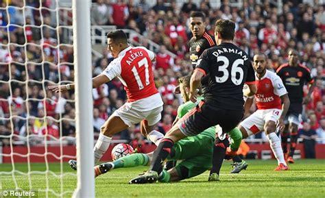 arsenal mu arsenal 3 0 manchester united result plus premier league