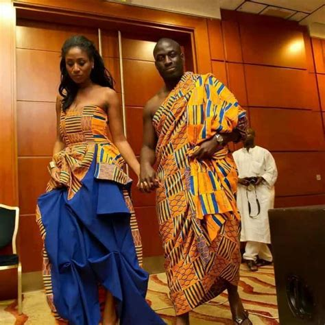 ghana african traditional outfit traditional wedding planning apbride carol aisle perfect