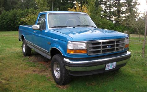 truck ford blue truck you a blue 1994 ford f 150 4x4 ford trucks com