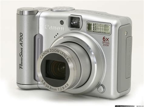 canon powershot reviews canon powershot a700 review digital photography review