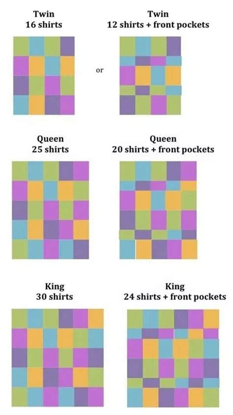 t shirt quilt layout t shirt quilt layouts sewing projects pinterest
