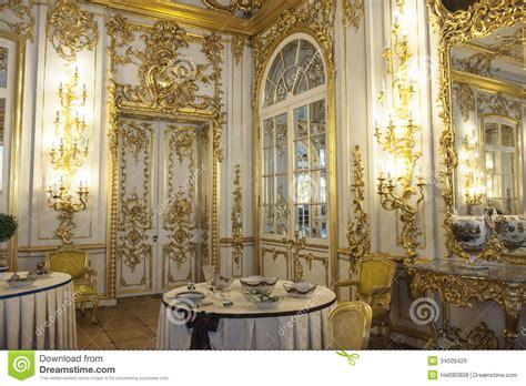 Silver Dining Room Table dining room catherine palace st petersburg royalty free