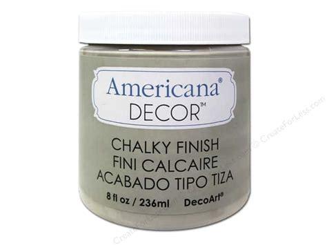 Americana Decor Chalky Finish by Decoart Americana Decor Chalky Finish 8 Oz Primitive