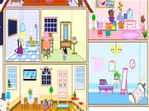 peppa pig doll house videos jocurile preferate roli ro portal pentru copii