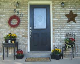 front porch decor ideas inexpensive simple front porch ideas from home hinges
