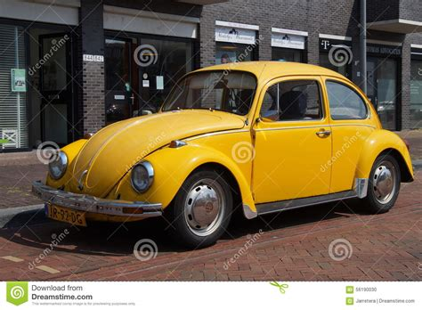 old volkswagen yellow volkswagen beetle yellow